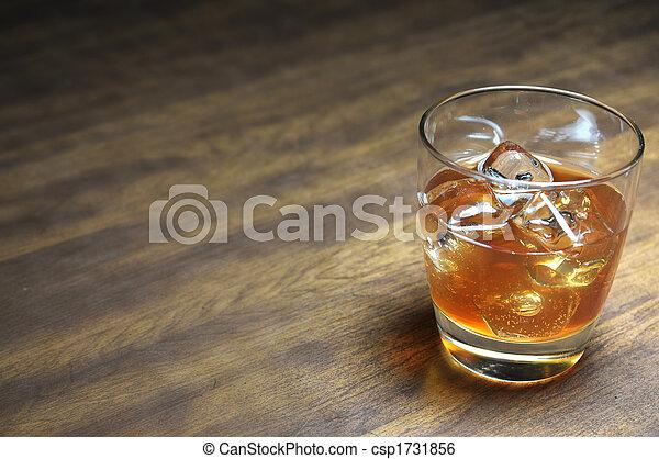 Bourbon on the Rocks - csp1731856