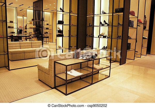 Stock Photo of Boutique shop - Interior decoration of boutique ...