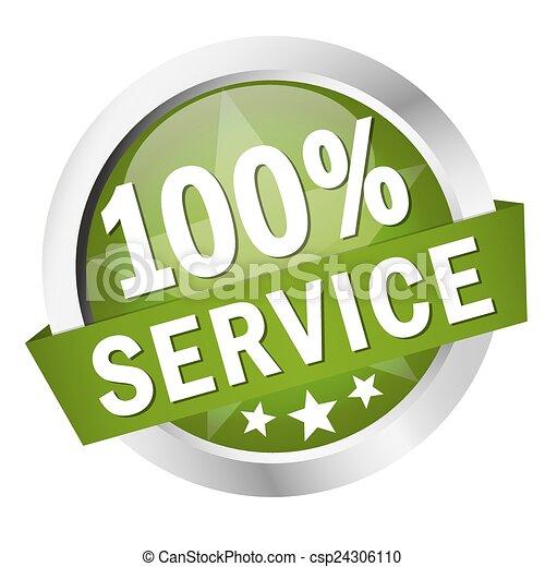 """bouton, """", bannière, 100%, service - csp24306110"""