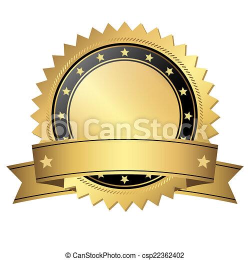 bouton, bannière, gabarit - csp22362402