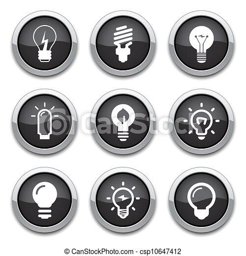 boutons, ampoule - csp10647412