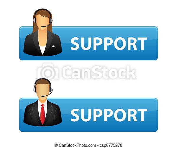 boutons, soutien - csp6775270
