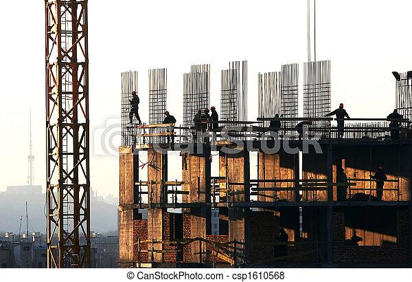 bouw activiteit - csp1610568
