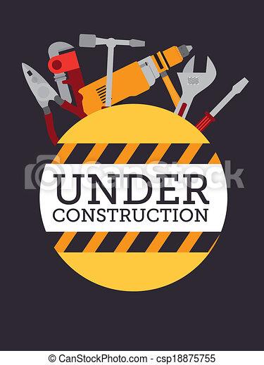 bouwsector, gereedschap - csp18875755