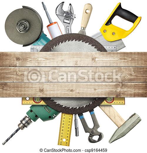 bouwsector, gereedschap - csp9164459