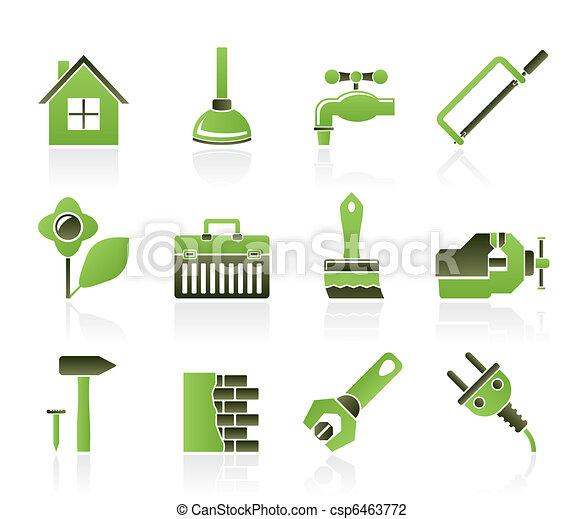 bouwsector, informatietechnologie, je - csp6463772