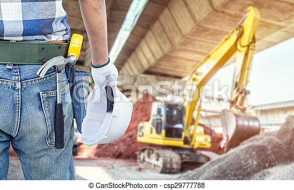 bouwsector, onder - csp29777788