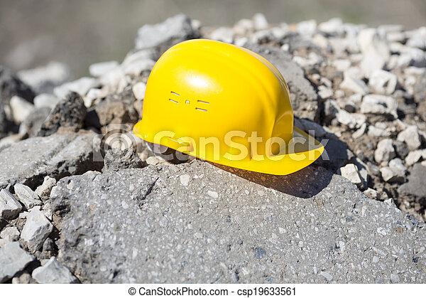 bouwsector, onder - csp19633561