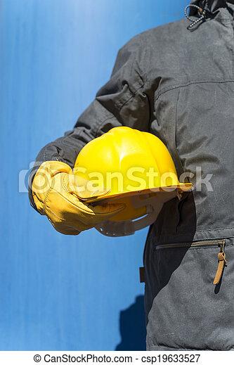 bouwsector, onder - csp19633527