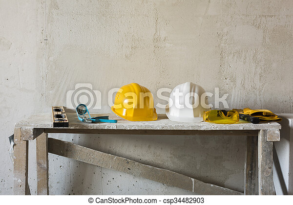 bouwsector, onder - csp34482903