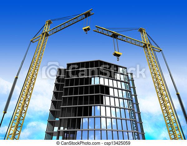 bouwsector - csp13425059