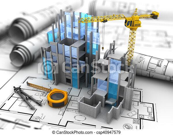 bouwsector - csp40947579