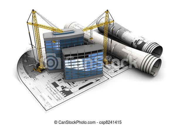 bouwsector - csp8241415