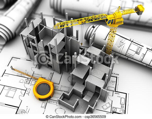 bouwsector - csp36565509
