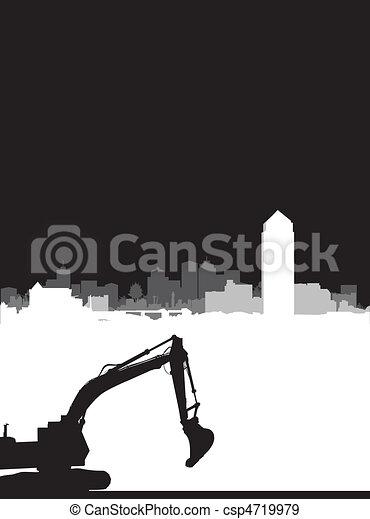 bouwsector - csp4719979