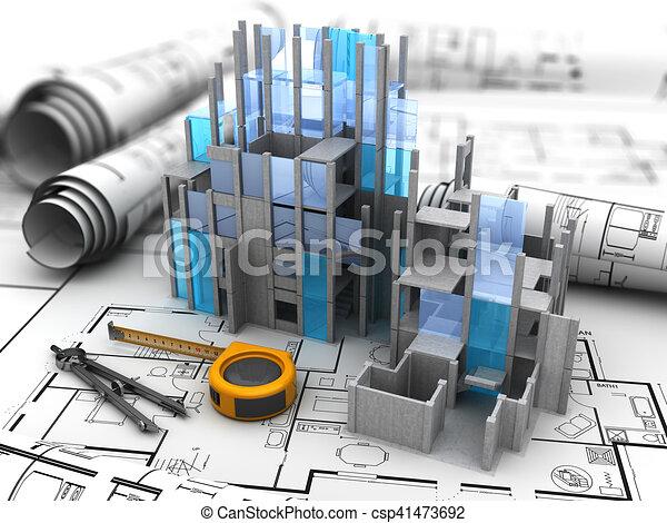 bouwsector - csp41473692
