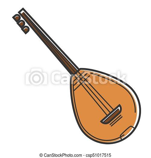 Bouzouki Cyprus National Musical Instrument National