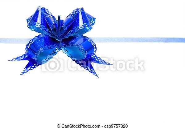 Bow blue - csp9757320