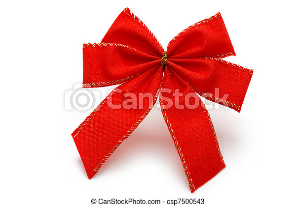 Bow isolated on white  - csp7500543