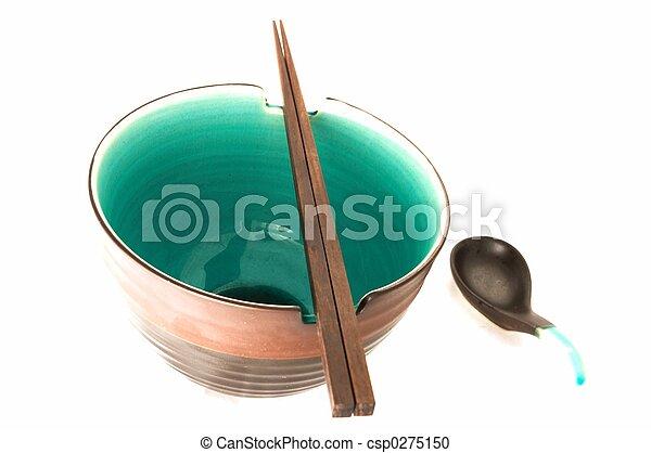 Bowl Chopstick spoon - csp0275150