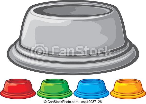bowl for animals  - csp19987126