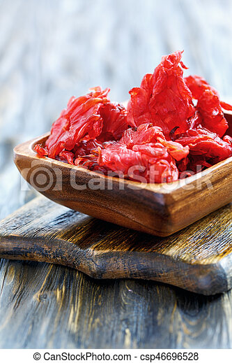 Bowl Of Candied Hibiscus Flowers Candied Hibiscus Flowers In The