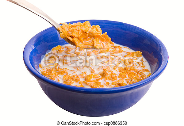 Bowl of cereal - csp0886350