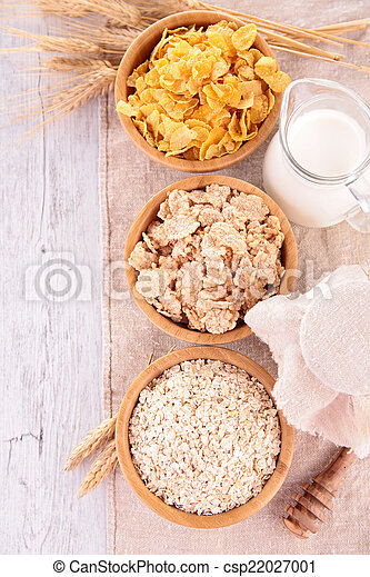 bowl of cereal - csp22027001