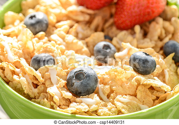 Bowl of Cereal - csp14409131