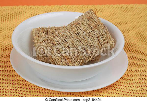 bowl of cereals - csp2184494