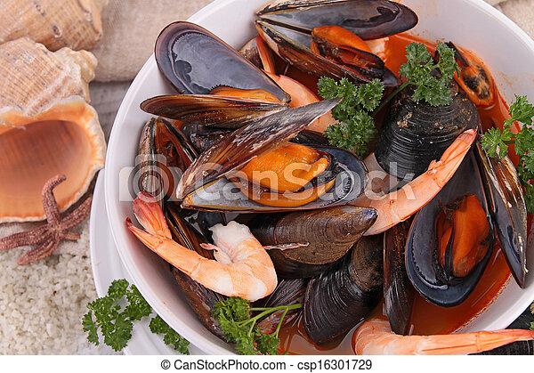 bowl of crustacean - csp16301729