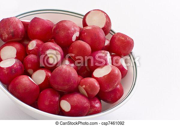 Bowl Of Radish - csp7461092