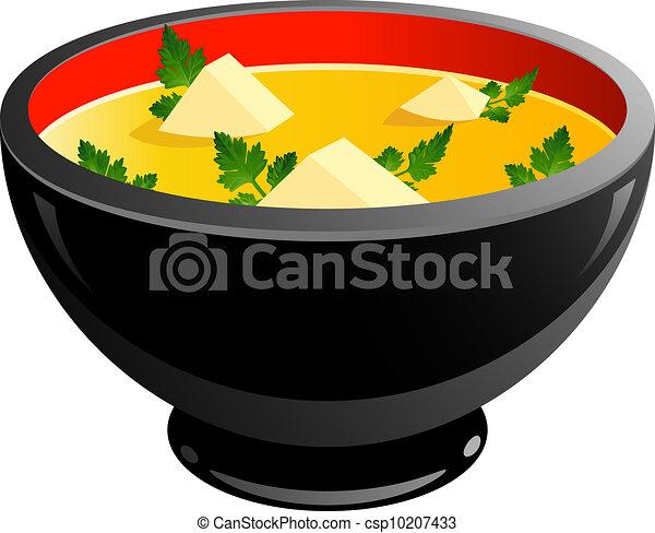 Bowl of soup - csp10207433