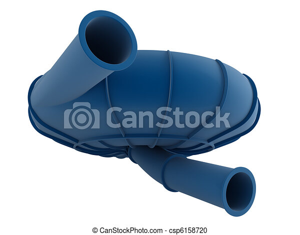 Bowl water slide - csp6158720