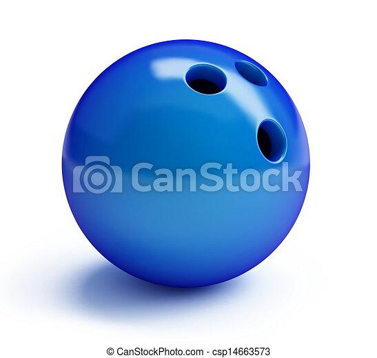 bowling ball  - csp14663573