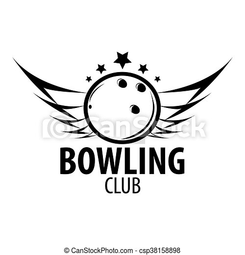 Bowling emblems, labels, badges and designed elements. - csp38158898