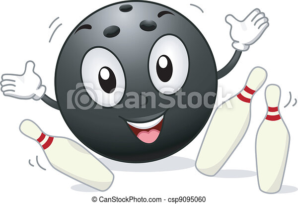 Bowling Mascot - csp9095060