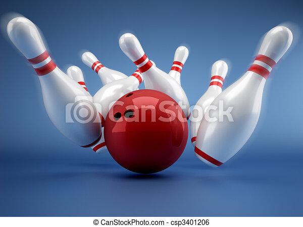 Bowling - csp3401206