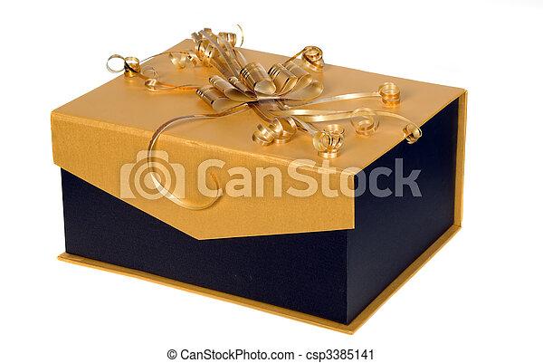 Box for presents - csp3385141