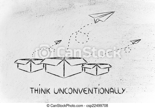 box, mimo, vision:, povolání, přemýšlet - csp22499708