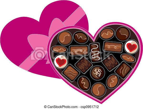 Box Of Chocolates Clip Art