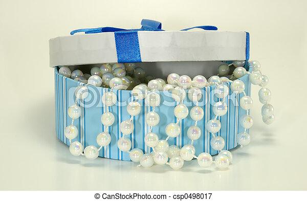 Box of Pearls - csp0498017