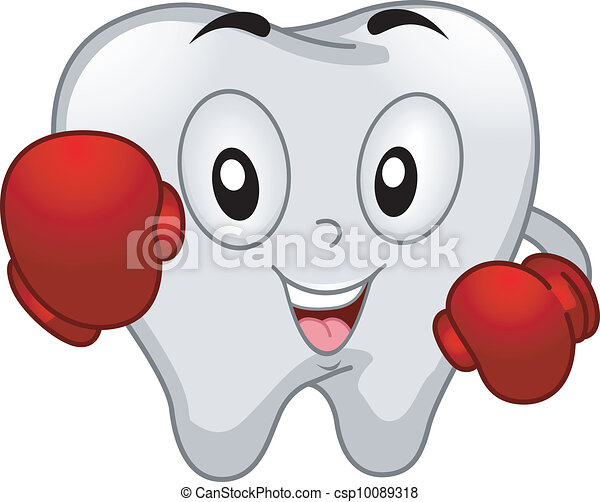 Una mascota de dientes - csp10089318
