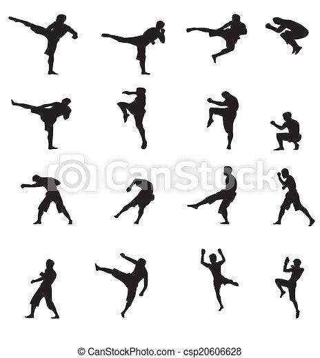 Kick Boxing - csp20606628