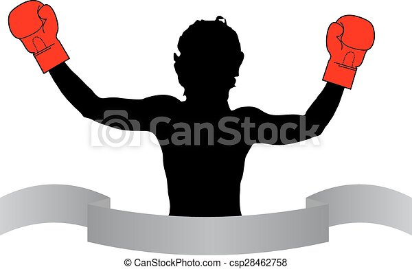 Boxer icon - csp28462758