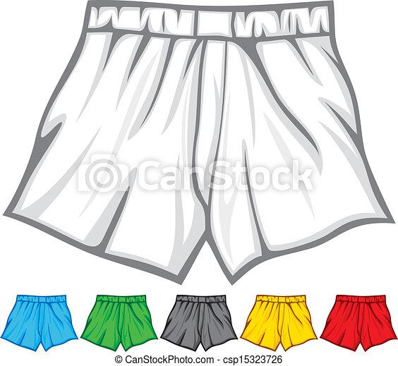 boxer, sammlung, kurze hosen - csp15323726
