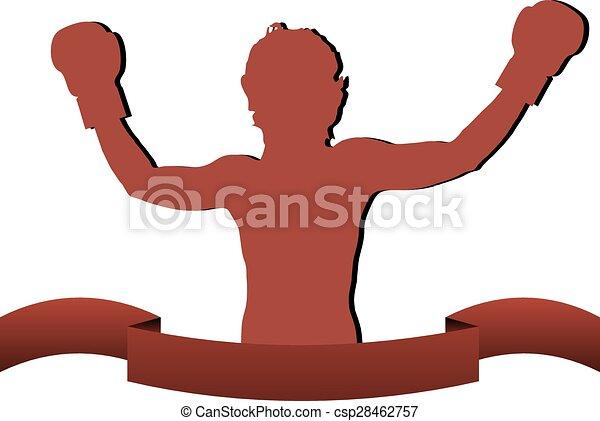 Boxer sticker - csp28462757