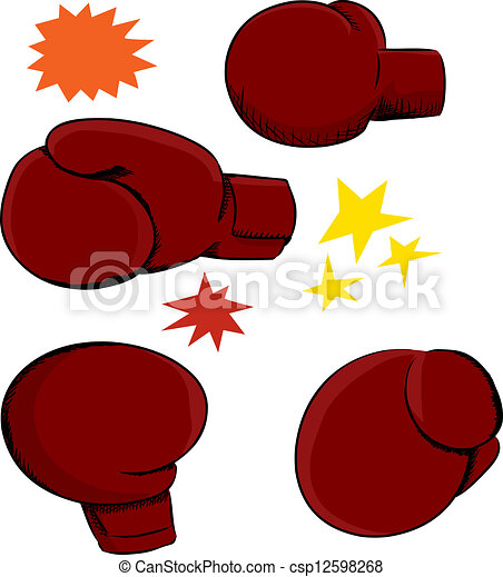 Boxing Glove Angles - csp12598268