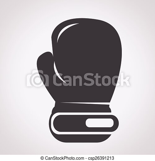boxing glove icon - csp26391213