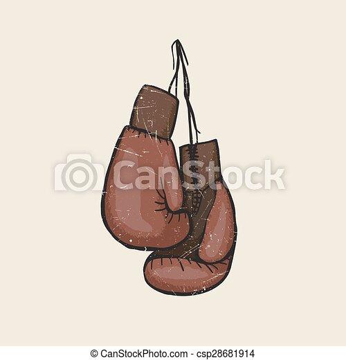 Boxing gloves - csp28681914